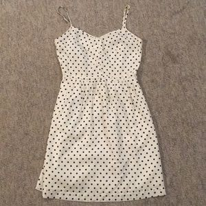 JCrew 00 Polka Dot Dress